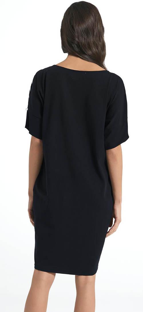 Černé šaty Ennywear 250028