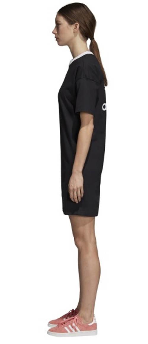 Černé sportovní šaty adidas