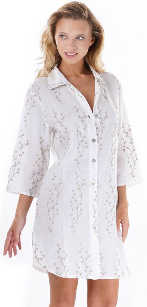 Dlouhá dámská italská košile