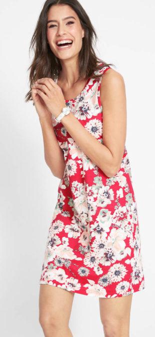 Letní žeržejové šaty za super cenu
