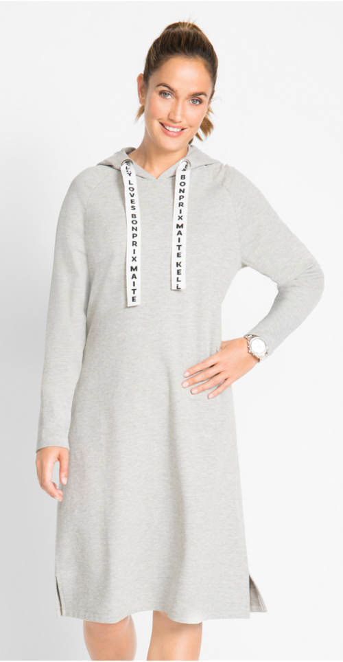 Mikinové zimní šaty