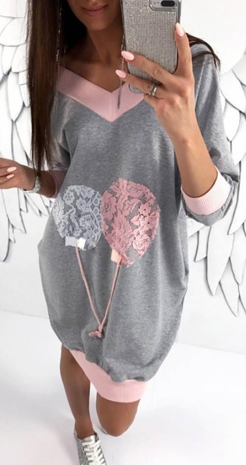 e82d607fbabf Pohodlné balónové šaty i pro těhotné