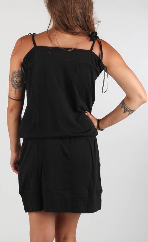 Černé sportovní letní šaty