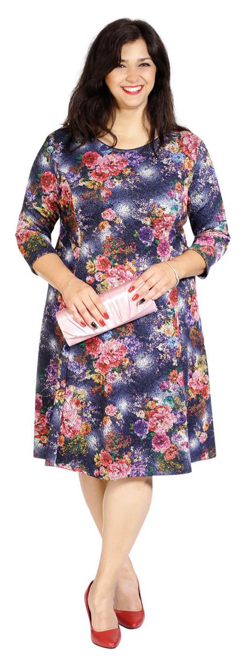 Květinové šaty pro baculky