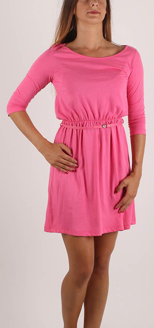 Růžové dámské šaty Terranova výprodej