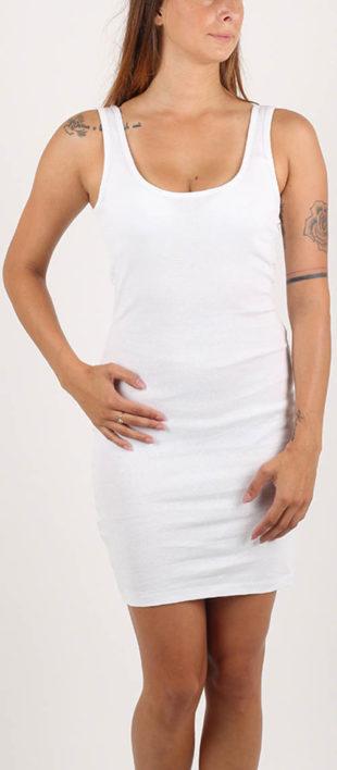 Bílé letní šaty Terranova výprodej