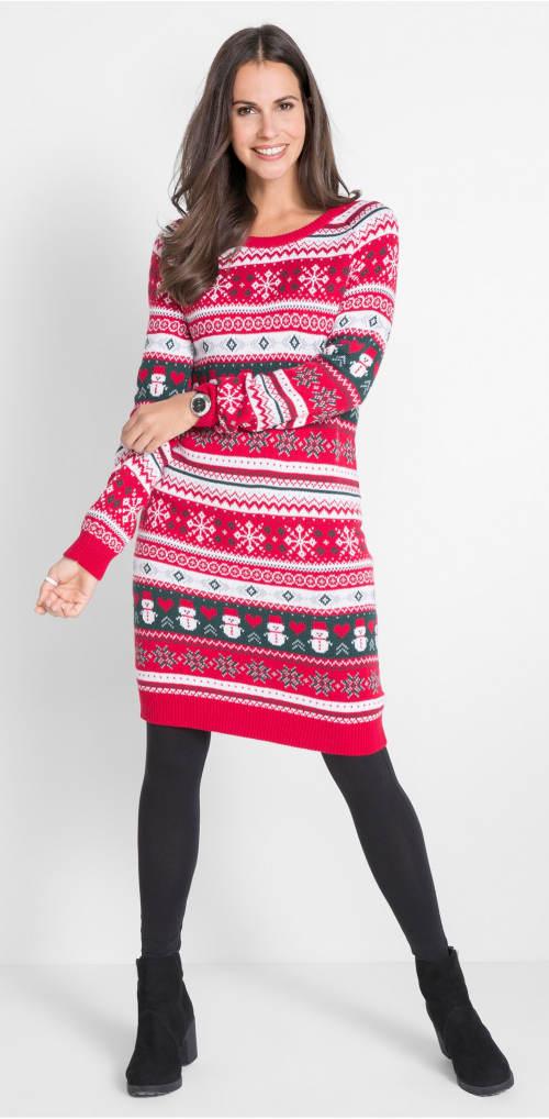 Dámské vánoční šaty