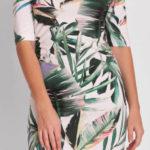 Květinové dámské šaty Pietro Filipi výprodej