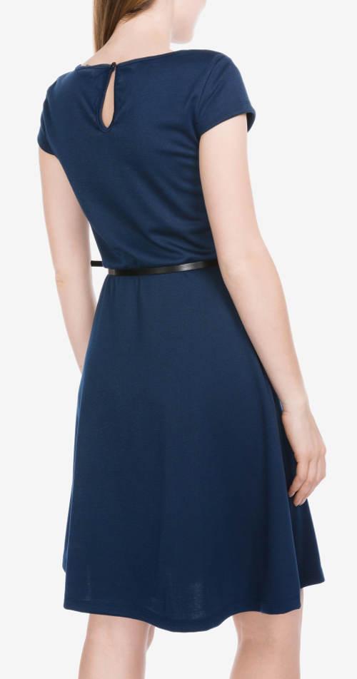 Lehounké modré letní šaty