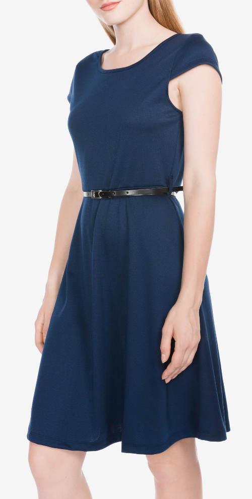 Výprodej modré letní šaty Vero Moda