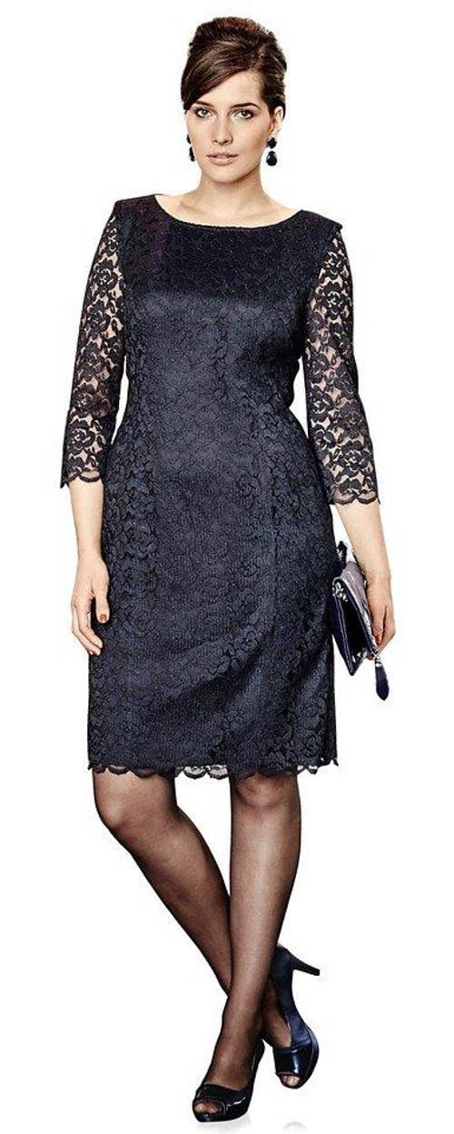 Plesové krajkové šaty pro starší