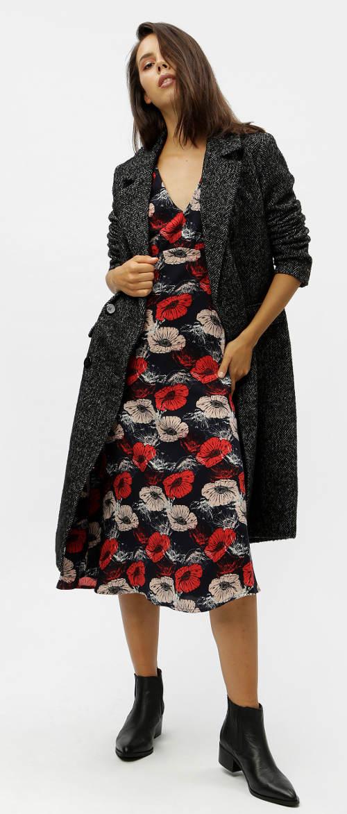 Podzimní šaty k dlouhému svetru