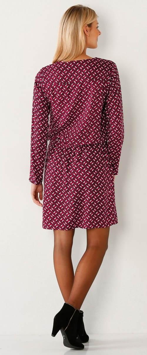 Šaty s geometrickým vzorem Blancheporte