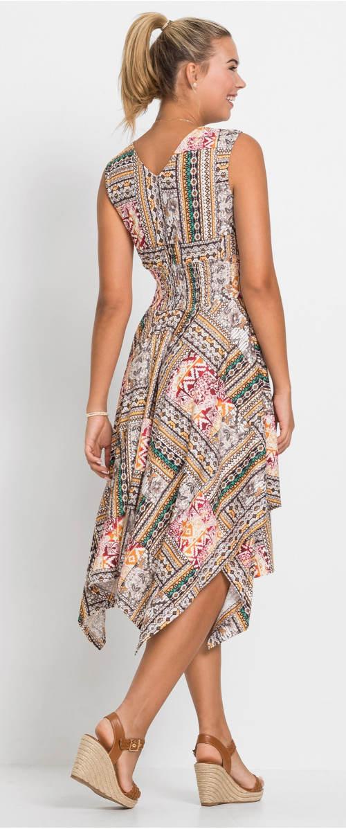 Letní midi šaty pro starší