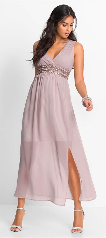 Levné večerní šifónové dámské šaty