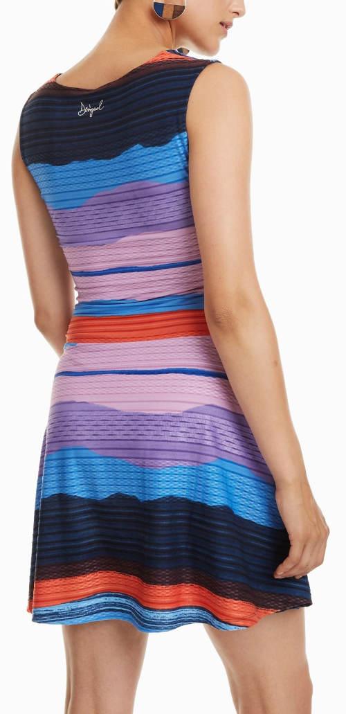 Pruhované letní šaty Desigual