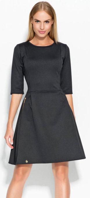 Pružné dámské šaty Makadamia M316