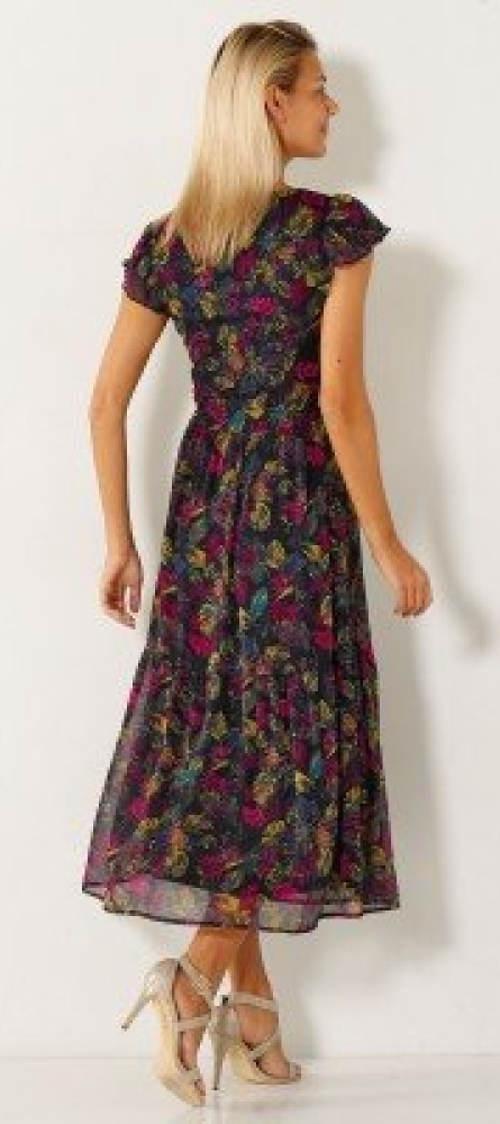 Lehounké dlouhé letní šaty