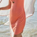 Jednoduché letní strečové šaty