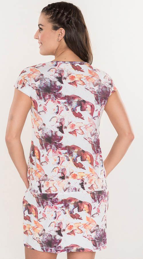 Letní šaty s potiskem ve výprodeji