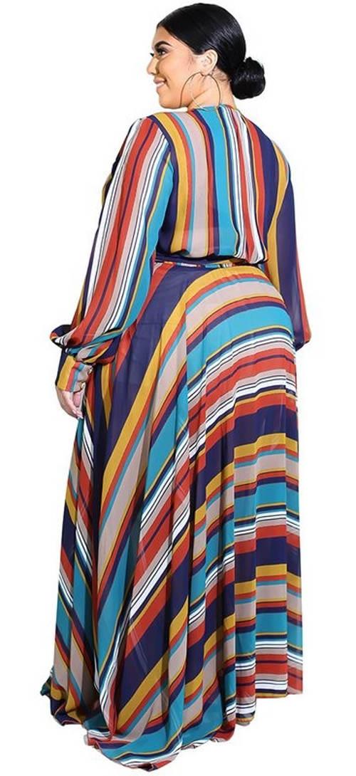 Maxi šaty pro baculky španělský styl