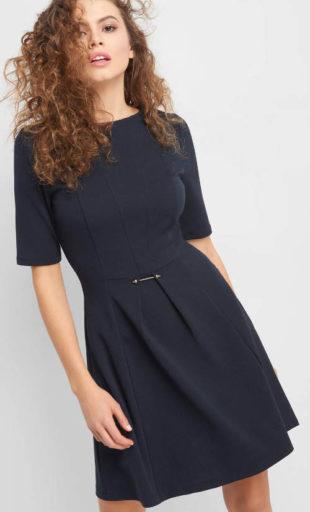 Nápadíté šaty Orsay s přešitím v pase