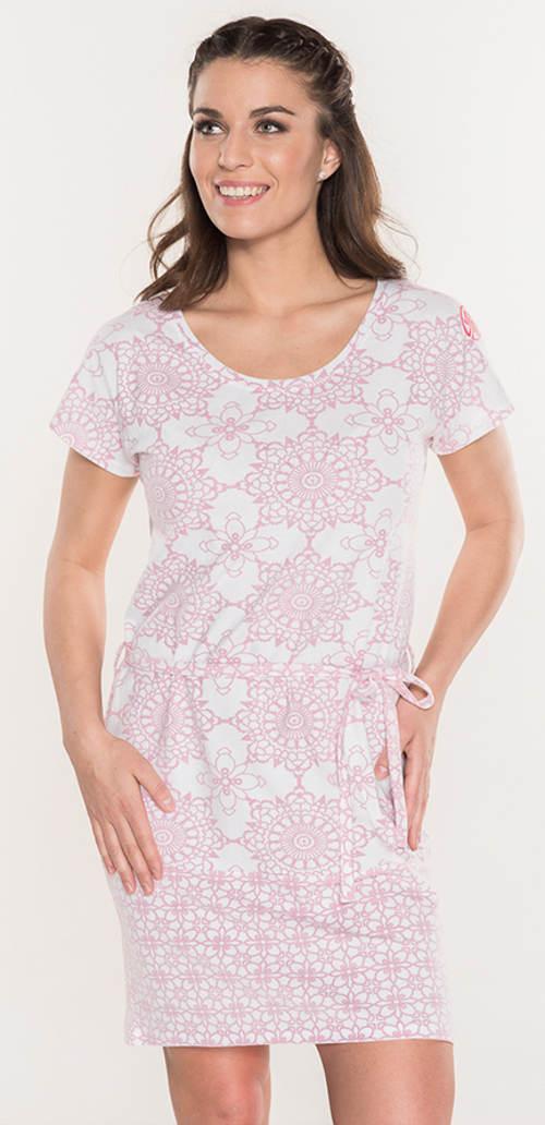 Vzdušné šaty s jemným mandala stylem