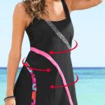 Tvarující plavkové šaty Bonprix 2019