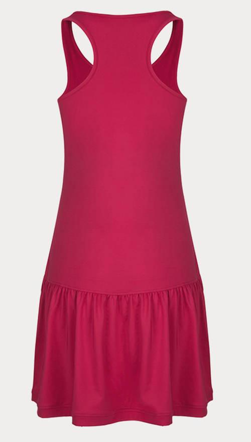 Fialové sportovní funkční šaty