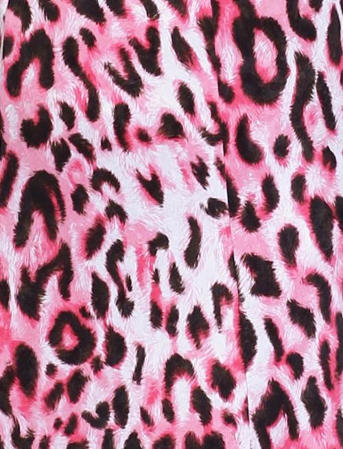 Motiv růžové leopardí kůže