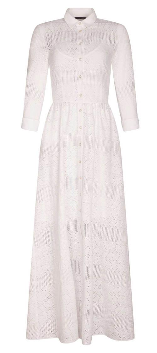Dlouhé košilové šaty Pietro Filipi
