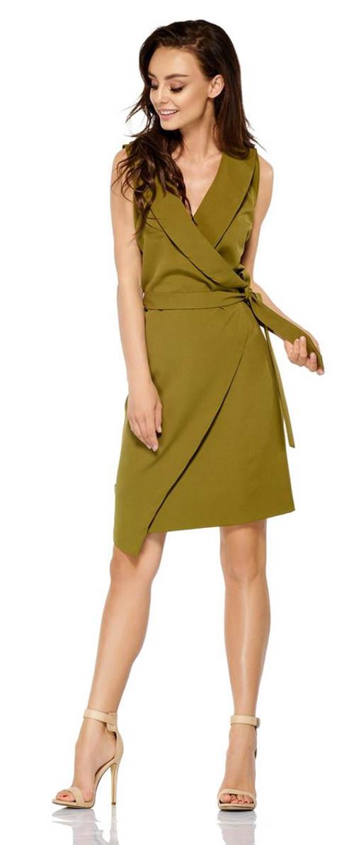 Elegantní šaty zavinovacího střihu