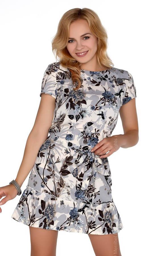 Levné letní šaty jednoduchého střihu
