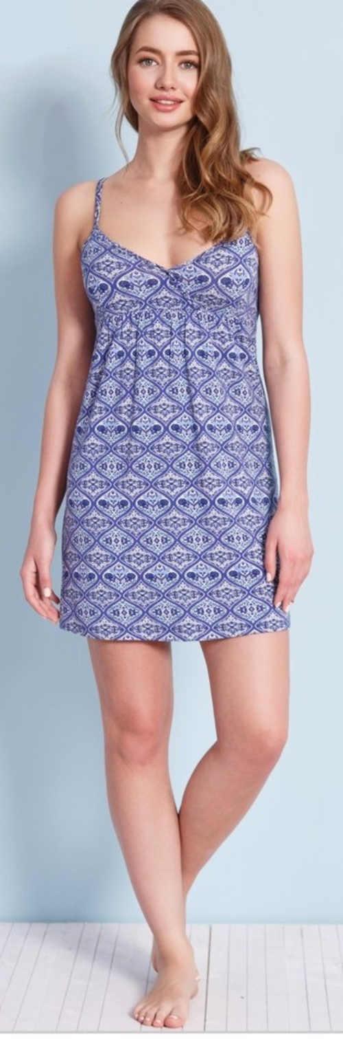 Volnočasové letní šaty na ramínka