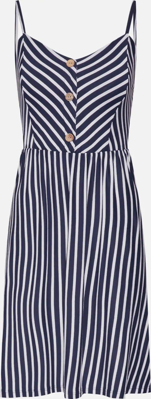 Dámské letní šaty s knoflíkovou légou