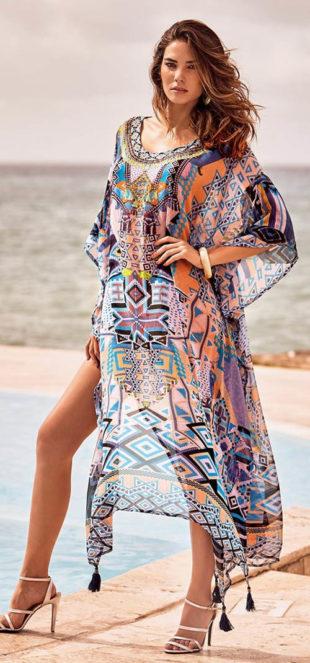 Lehounké rychloschnoucí plážové šaty Giadar