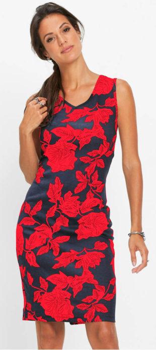 Letní květinové šaty i pro plnoštíhlé