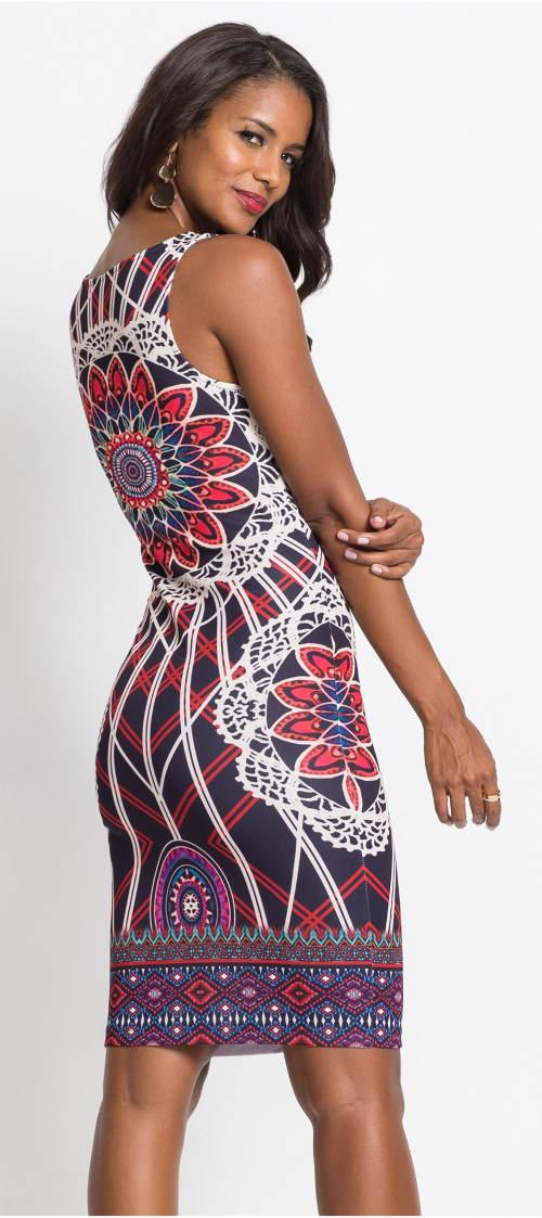 Letní mandala šaty