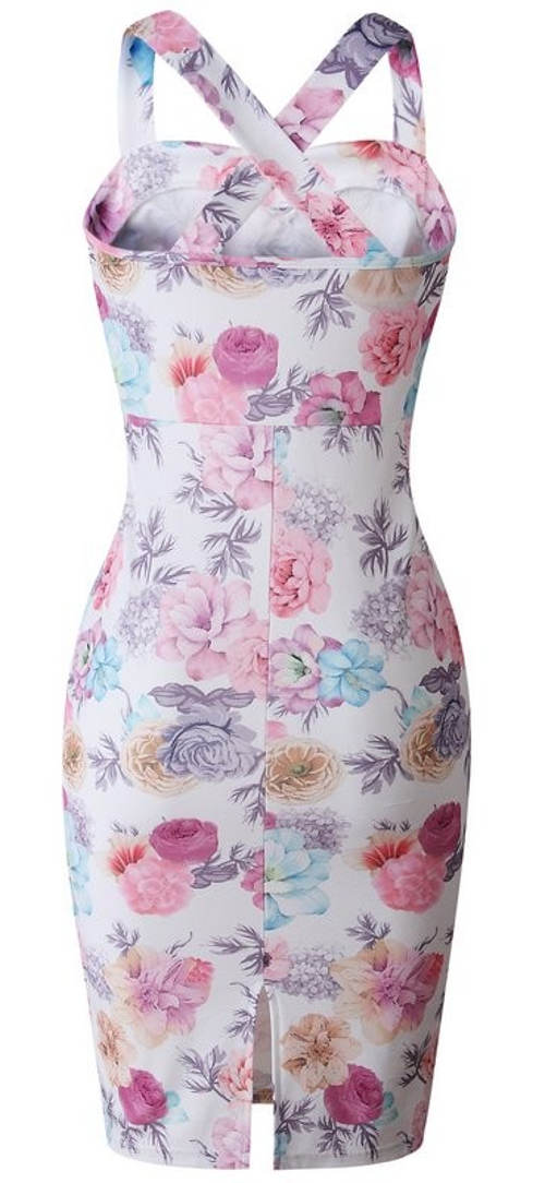 Romantické šaty s motivem růží