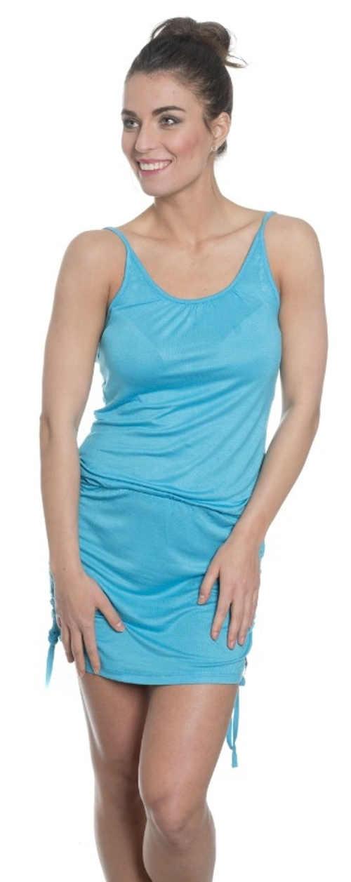 Tyrkysové letní šaty SAM 73