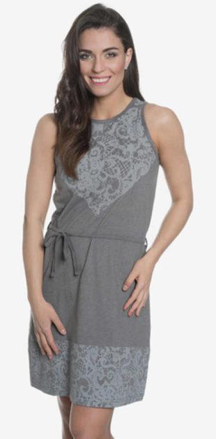 Výprodej šedé letní šaty SAM 73