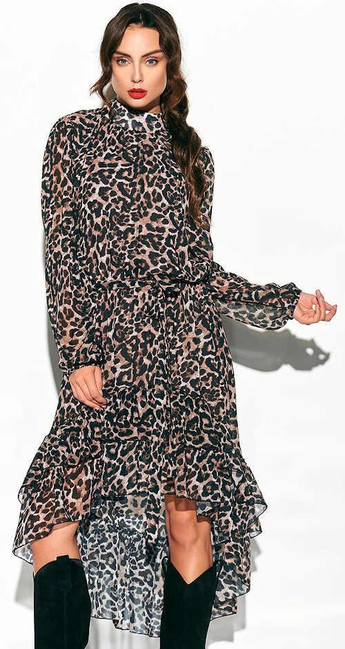 Šaty se zvířecím motivem