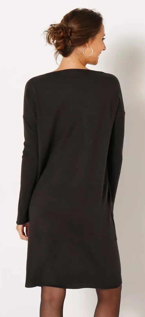 Zimní úpletové dámské šaty výprodej