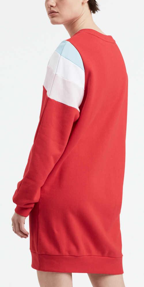 Značkové dámské ležérní šaty s dlouhými rukávy