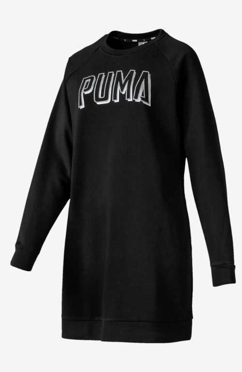 Mikinové sportovní dámské šaty Puma