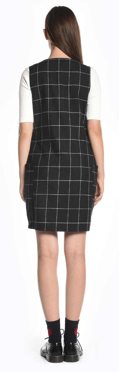 Kostkované šaty pro mladé výprodej