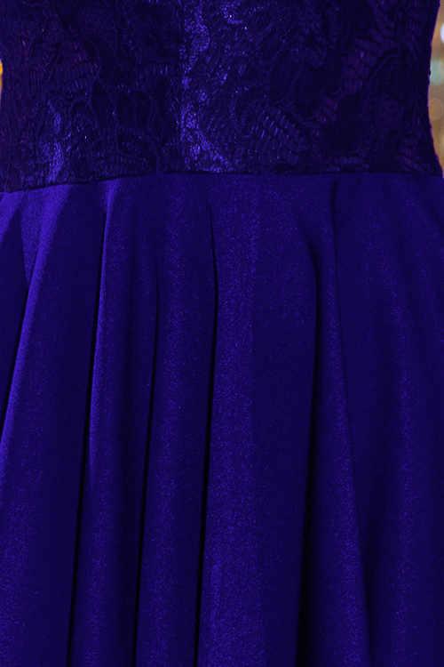 Detail přechodu krajky v sukni