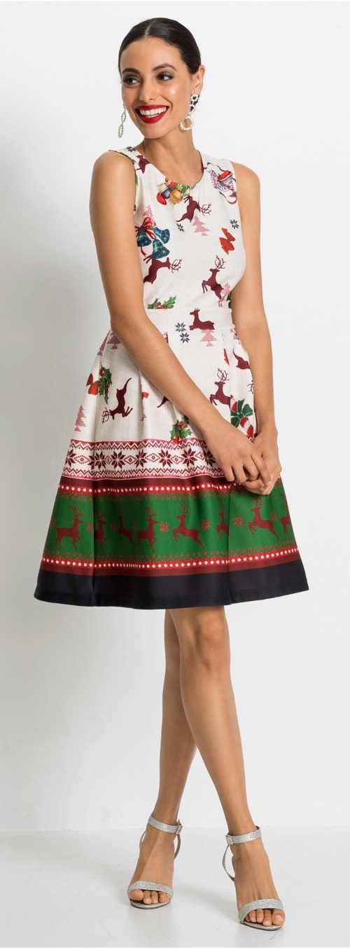 Šaty na vánoční večírek