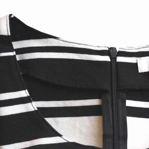 Úpletové dámské šaty se zipem na zádech