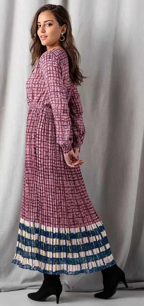 Dlouhé oversize šaty maxi střihu